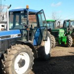 Tractor New Holland Ford 8340, AC,  4x4, import, 130 CP