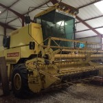 Combina 8050 F, an 1988, header 3,6 mi,  3.457 h, import 12.2019